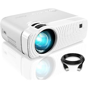 Portable Projector with 4500 Lumens and Full HD 1080p LED Video Projector