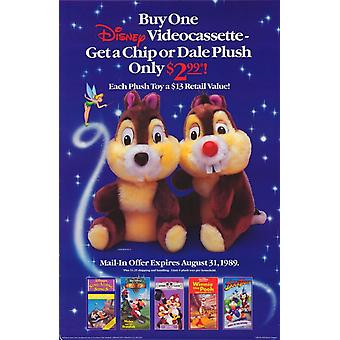 Chip N Dale Movie Poster (11 x 17)