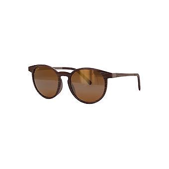 Maui Jim Kiawe H809 25C Brown Stripe/HCL Bronze Sunglasses