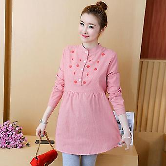 Spring Autumn Shirts For Pregnant Women