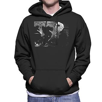 The Invisible Man Talking Men's Hooded Sweatshirt