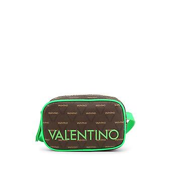 Valentino Bags - Clutches - LIUTO FLUO-VBS46820_LIME - Ladies - lime,saddlebrown