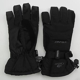 Gants de ski thermique imperméables à l'eau de tous les temps de tête professionnels
