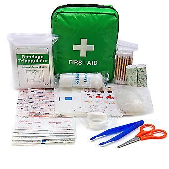 Prenosné núdzové prežitie lekárnička pre vonkajšie kempovanie turistické lekárske