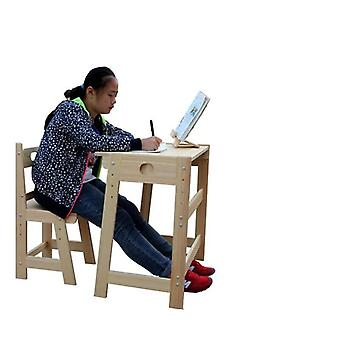 Children Learn Table And Chair Sets Of Secretary But Lift Pupil Student Desk