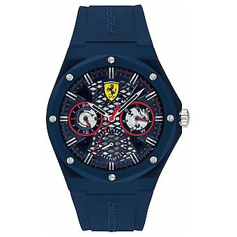 Scuderia Ferrari | Aspire | Blue Silicone Strap | Blue Dial | 0830788 Watch