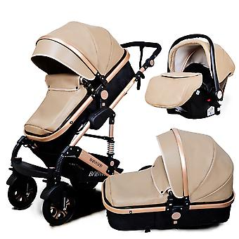 High Landscape Seated Folding  Baby Stroller