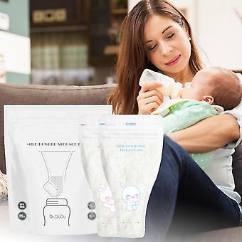 56st / pack Dispenser Mjölk pulver lagringspåse Bröstmjölk (56st)