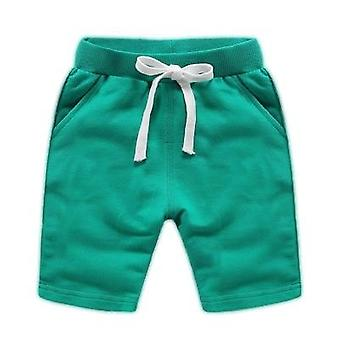 Baby Summer Fashion Cotton Trousers Kids Solid Beach Shorts Pants