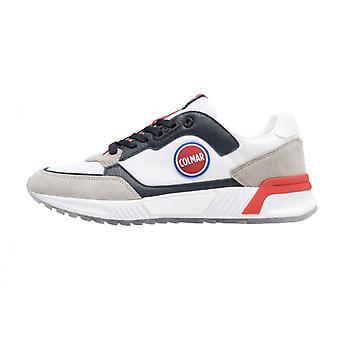 Men's Shoes Colmar Sneaker Dalton Originals 033 Suede/ Fabric White Us21co04