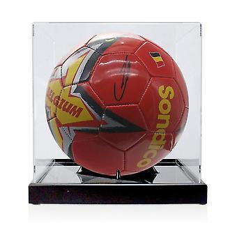 Kevin De Bruyne fichó por el fútbol belga. En la vitrina