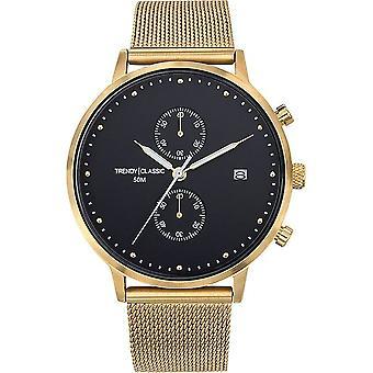 TrendyClassic - Wristwatch - Men - Duel acier - CMG1046-02