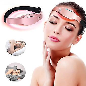 Elektrische hoofd massage stimulatie slaapinstrument Stress Relief Ontspanning Low-frequency Pulse Treat Slapeloosheid