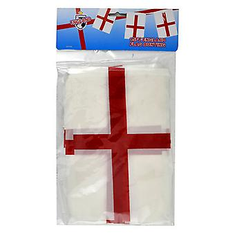 Angleterre St George Flag 15ft Football Supporters Bunting/Banner