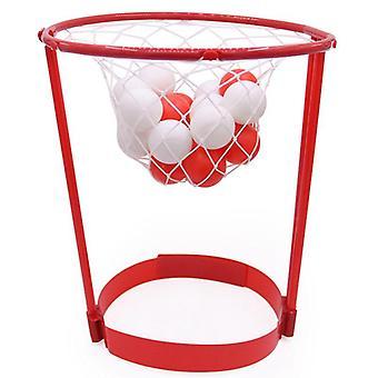 Utomhus roliga sport underhållning korg bollfodral, pannband Hoop Spel,