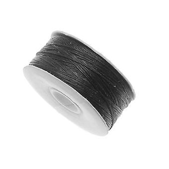 "NYMO Nylon Beading Thread Size B for Delica Beads ""Black"" 72YD (66 Meters)"