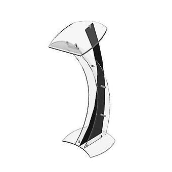Gennemsigtig akryl podium / plexiglas talerstol