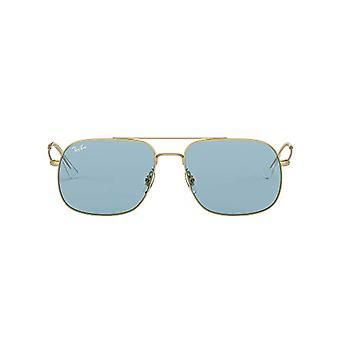 راي بان 0RB3595 النظارات الشمسية، براون (المطاط الذهب)، 59.0 للجنسين الكبار(1)
