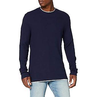 Springfield 3ip Estructura Doble-c/12 T-Shirt, Blue (Medium_Blue 12), Large Men