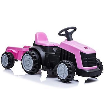 Tractor vehicul electric cu remorcă – Roz