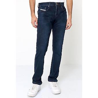 Regular Fit Jeans Stretch - Blue