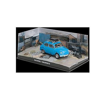 ZAZ 965A modelo fundido a troquel coches de James Bond GoldenEye