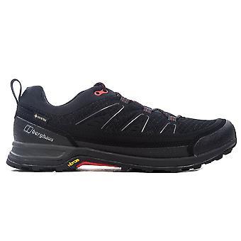 بيرغهاوس إكسبلورر FT نشط GTX الرجال في الهواء الطلق المشي المدرب حذاء أسود