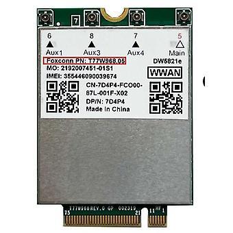 T77w968 Para Dell Dw5821e Lte Cat16 Gnss 5g Wwan Card Module para latitude robusta