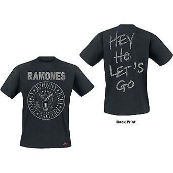 Ramones - Seal Hey Ho Herr medium T-Shirt - Svart