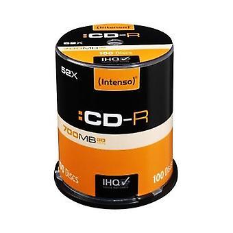 CD-R INTENSO 1001126 52x 700 MB (100 uds)