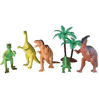 Dinosaur 6 Piece Playset