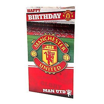 Manchester United FC Birthday Card