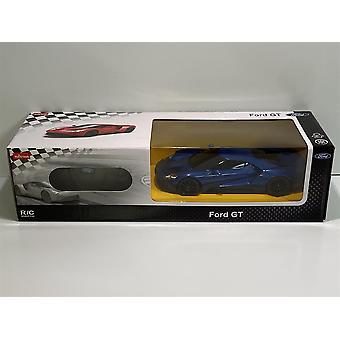 Ford GT Sininen 1:24 Asteikko RC Kauko-ohjattava Rastar 78200