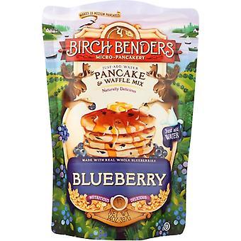 Birch Benders Pandekage Wffl Mix Bluebrry, sag af 6 X 14 Oz