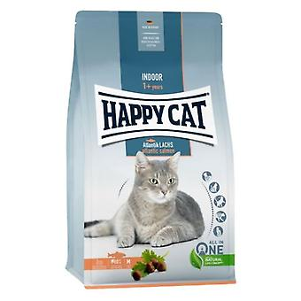 Happy Cat Indoor Atlantic Salmon (Cats , Cat Food , Dry Food)
