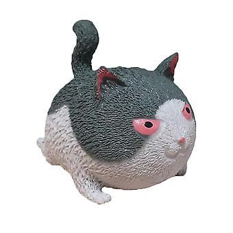 Squishy Angry Cat Anxiety Relief Toys Slowspring Sensory Fidget Toy