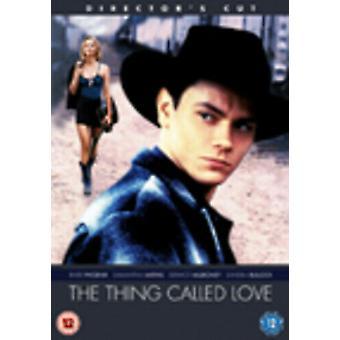 The Thing Called Love (Directors Cut) DVD (2006) River Phoenix Bogdanovich Region 2