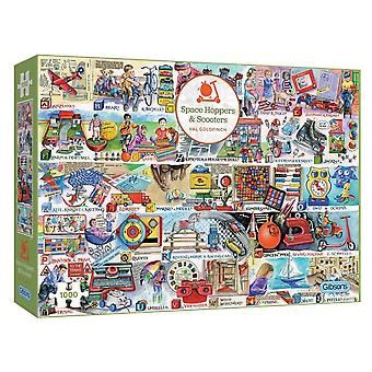 Gibsons Space Hoppers &Scooters Jigsaw Puzzle (1000 Pièces)