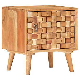 vidaXL Nachtkastje 42×35×45 cm Acacia Massief hout