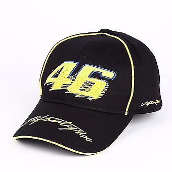 Man Baseball Cap Motorcycle Knight Parkour Sports Cap Embroidery Snapback Hat Racing Small Yellow 46