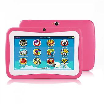 7 Inch Quad Core Children Learning Tablet Pc 512mb Ram+8gb Rom For Android 4.4