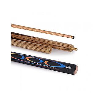 باورglide الكلاسيكية فيبي السنوكر 50/50 2 قطعة جديلة هاردوود المعقّد بعقب 10mm تلميح