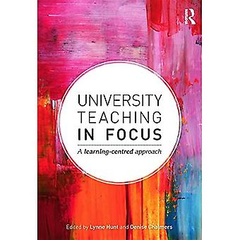 Universitetsundervisning i fokus: Ett lärande centrerad strategi