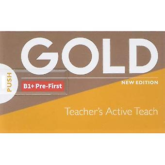 Gold B1+ Pre-First New Edition Teacher's ActiveTeach USB (Gold)