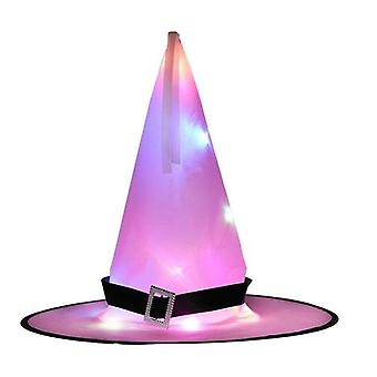 Halloween Decoration Witch Hat Led Lights