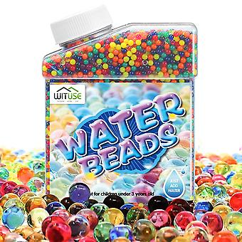 Water Beads Aqua With Syringe Magic Filler Rainbow Mix Kids Children Crystal Soil Soft Bullets Hydrogel Guns Accessories Toys