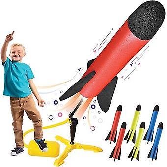Lapset's Lelu Väri Vaahto Raketinheitin Kiinteä kantoraketti kiinnike laukaisualustalla