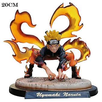 Anime Charaktere Naruto Pvc Anime Modell Statue Sammlung Puppe Spielzeug Neunschwänziger Dämonenfuchs Naruto Feenmodus