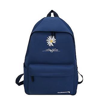 Sac à dos couleur unie fille sacs d'école pour adolescents