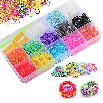 Loom Bands Sets , For Diy Crafts Children's Bracelets Necklace,800pcs